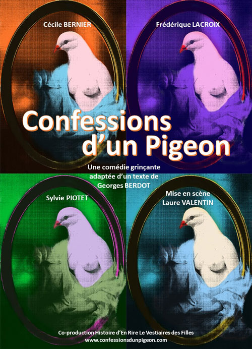 Affiche Confessions d'un pigeon