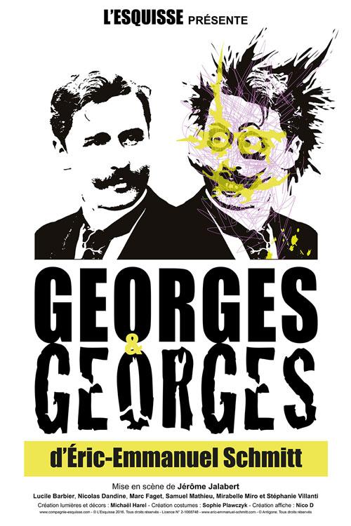 Affiche Georges et Georges